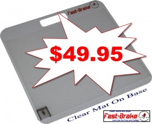 Clear Mat on Base - 49.95