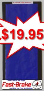 Fast-Brake Personal Base 8x16, 1 Black base, 1 Washable Mat Blue