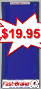 Fast-Brake Personal Base 8x16, 1 Blue base, 1 Washable Mat Blue
