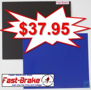 Fast-Brake Super Saver Starter Kit 18x19, 1 Black base, 30 sheets Blue