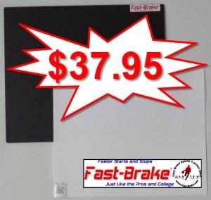 Fast-Brake Super Saver Starter Kit 18x19, 1 Black base, 30 sheets White