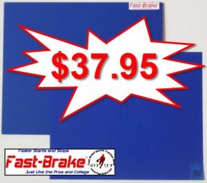 Fast-Brake Super Saver Starter Kit 18x19, 1 Blue base, 30 sheets Blue