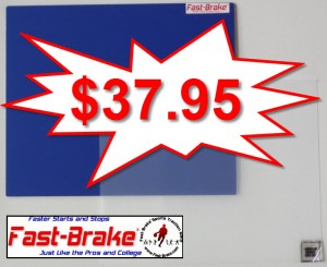 Fast-Brake Super Saver Starter Kit 18x19, 1 Blue base, 30 sheets Clear