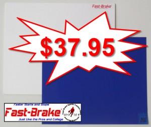 Fast-Brake Super Saver Starter Kit 18x19, 1 White base, 30 sheets Blue