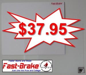 Fast-Brake Super Saver Starter Kit 18x19, 1 White base, 30 sheets Clear