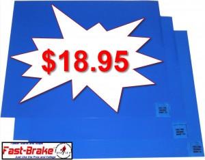 Fast-Brake Blue Replacement Mats 30 Sheets