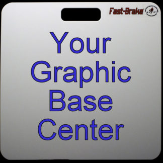 Fast-Brake Sport Mats - Customize Base Center With Your Graphic