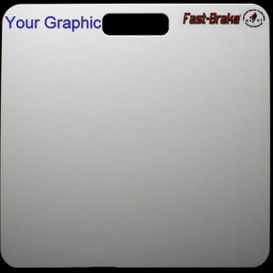 Fast-Brake Sport Mats - Customize Top Left Base With Your Graphic