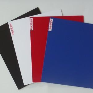 Fast-Brake Sport Mats – 18×19 Super Saver Base colors Black White Red Blue