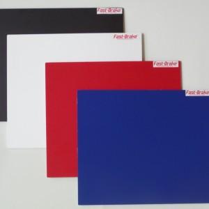Fast-Brake Sport Mats – 18×19 Super Saver Base colors Black White Red Blue v2