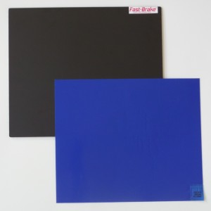 Fast-Brake Sport Mats – 18×19 Super Saver Black Base with Blue Mat