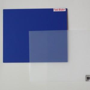 Fast-Brake Sport Mats – 18×19 Super Saver Blue Base with Clear Mat