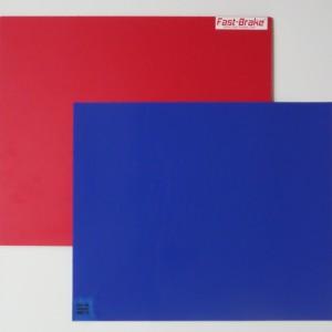 Fast-Brake Sport Mats – 18×19 Super Saver Red Base with Blue Mat