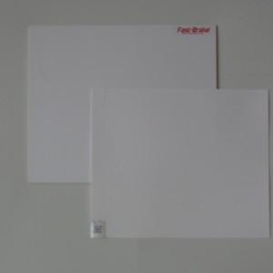 Fast-Brake Sport Mats – 18×19 Super Saver White Base with White Mat